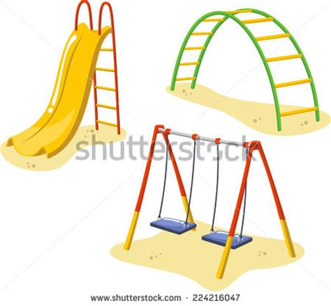 swing set cartoon swing set stock photos images pictures shutterstock