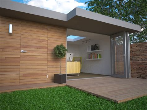 garden wall cladding garden office cladding materials garden office guide