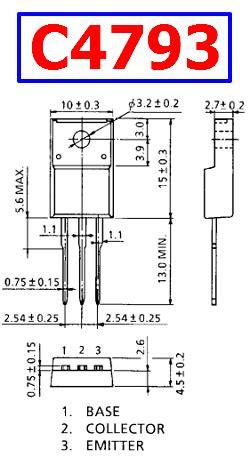 c4793 transistor equivalent c4793 datasheet pdf npn transisotor toshiba