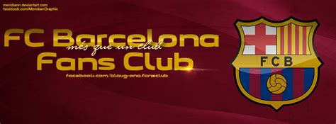 fc barcelona fans club timeline cover by meridiann on