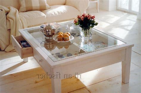 glastisch mit schublade dekorieren modern design deko auf wohnzimmertisch moderne