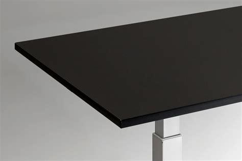 standing desk top small black multitable