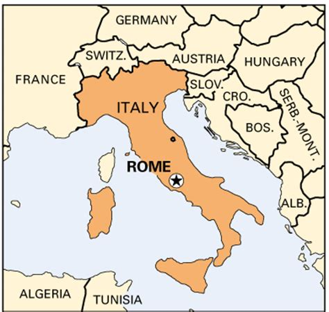rome italy map suzanne s selections did you