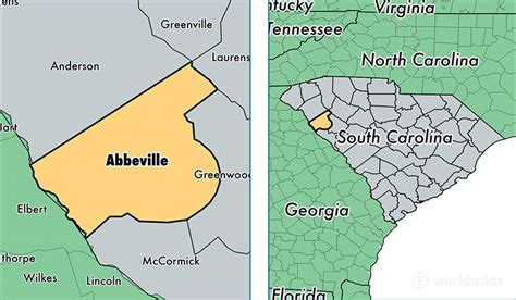 Abbeville County Sc Records South Carolina Time Zone