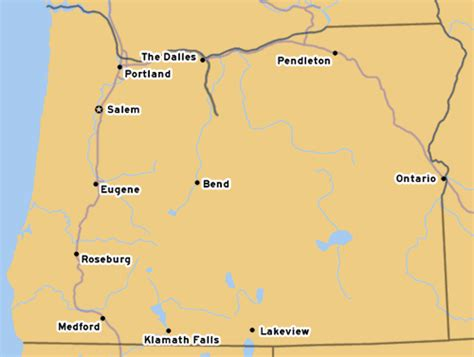 shaniko oregon map oroads oregon route 23