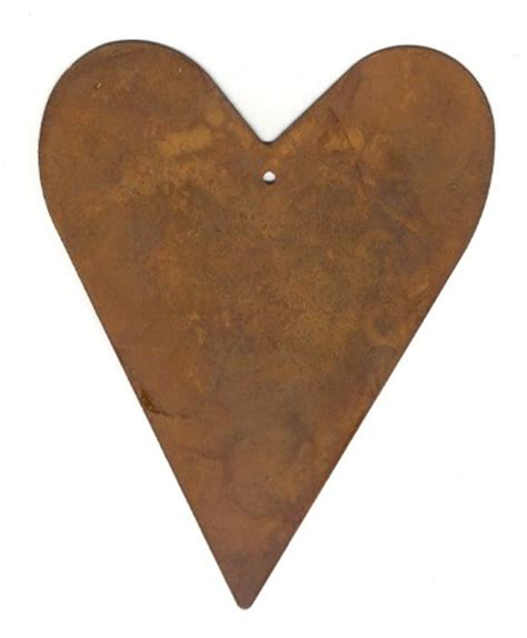 over s country store wholesale rusty tin hearts