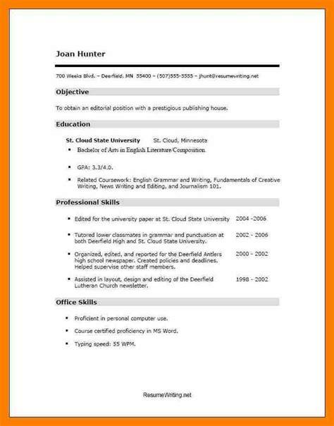 Curriculum Vitae Resume Sles Pdf by 8 Curriculum Vitae Format Pdf Sephora Resume