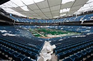 Pontiac Dome The Pontiac Silverdome Then Now