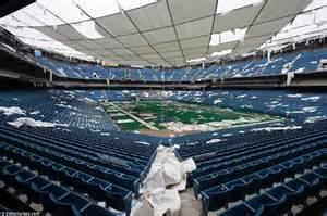 Pontiac Silver Dome The Pontiac Silverdome Then Now