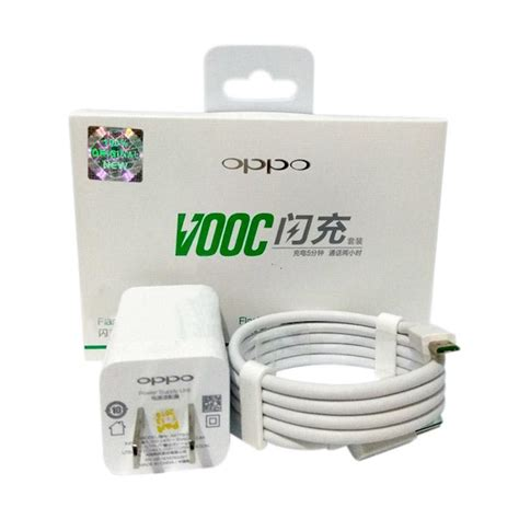 Charger Vooc Oppo 4a Fast Charging Original jual oppo vooc fast charging original charger for oppo mirror r7 4a 5v 4a1 harga
