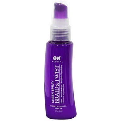 all natural braid spray next image on natural braid twist sheen spray