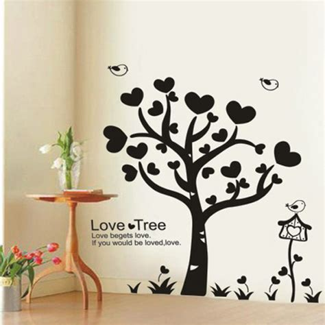 Large Murals For Walls 5 types of wall art stickers to beautify the room