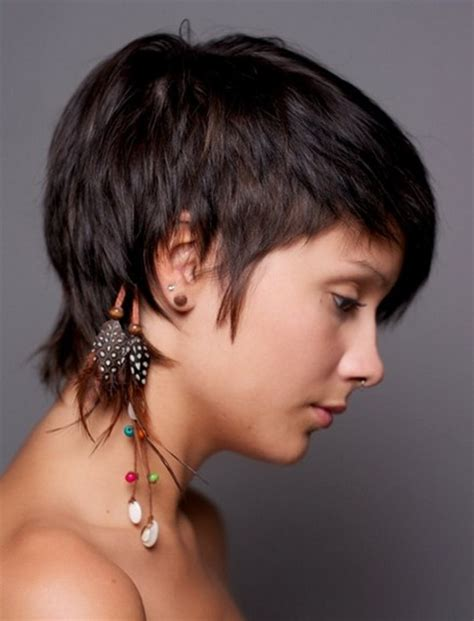ladies short hair styles cropped short at each side short cropped haircuts for women