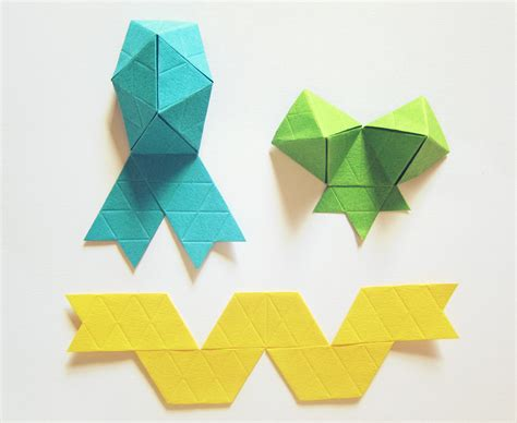Origami With Ribbon - the origami ribbon living loving for all things lovely