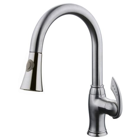 Kitchen Faucet Has No Pressure by Kohler Fairfax Single Handle Pull Out Sprayer Kitchen