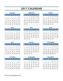 Calendar Word Template Free 2017 Calendars Word Templates Free Word Templates