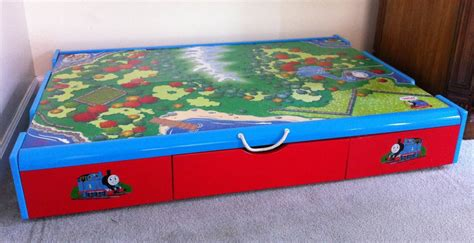 under bed train table thomas the train under the bed trundle table 75 free