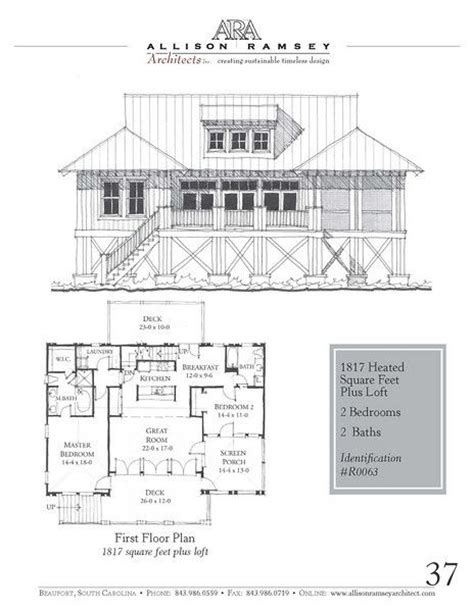 allison ramsey floor plans r0063 allison ramsey architects house plans in all