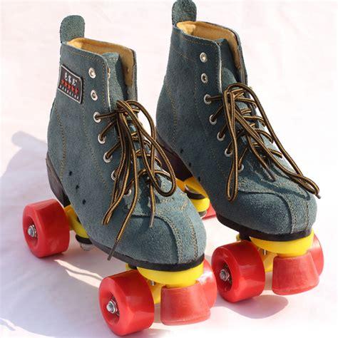 Wheels Sepatu Roda 2016 new arrivals unisex adults classic style roller skates boot outdoor indoor 4