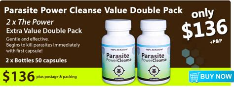 Power Flush Detox by Parasite Cleanse Detox Candida Cleanser
