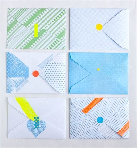 Handmade Envelopes Pattern - best 25 handmade envelopes ideas on paper