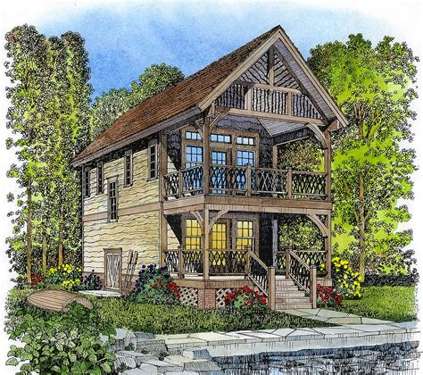adirondack style retreat 43041pf architectural