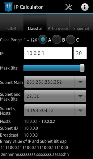 subnetting calculation tutorial download network ip subnet calculator google play