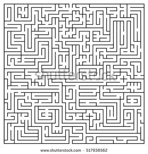 printable maze with no solution maze stockafbeeldingen rechtenvrije afbeeldingen en