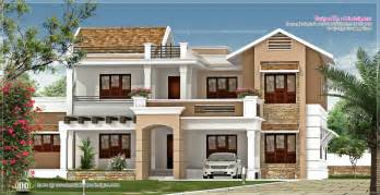 villa design new villa exterior design in 3740 sq feet kerala home