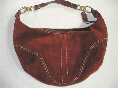 Coach Ergo Belted Leather Medium Purse by Coach Soho Suede Leather Medium Hobo Purse Shoulder Bag