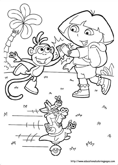 childrens coloring pages dora dora coloring pages free for kids