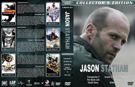 Dvd Transporter 3 Jason Staham 1 jason statham collection dvd custom covers jsc s3 lg dvd covers