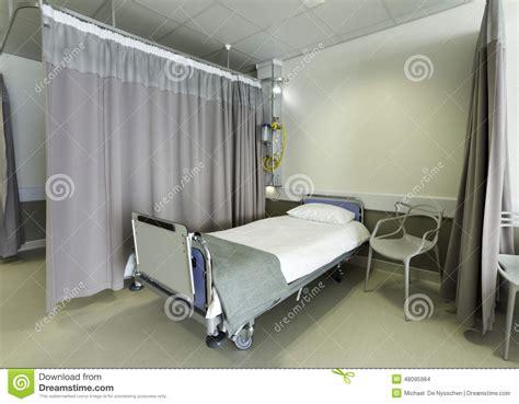 hospital bed curtains hospital bed ward stock photo image 48095984