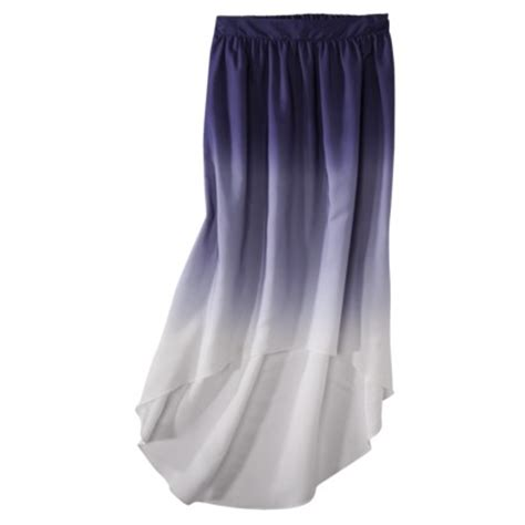 mossimo 174 s ombre high low maxi skirt target