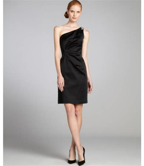 Dress Of The Day Unger Silk Cocktail Dress by Unger Evening Dresses