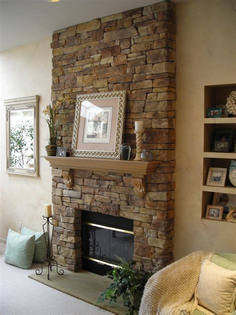 stone fireplace design ideas decoration how to build stacks stone veneer fireplace
