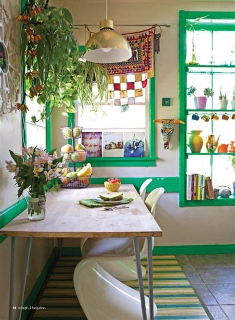 colorful wallpaper for kitchen 49 colorful boho chic kitchen designs digsdigs