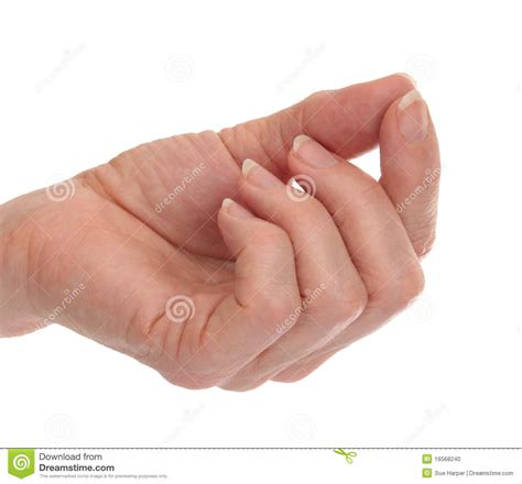 Thumb And Fingers with fingers thumb touching stock photo image