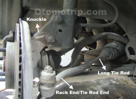 Rack End Avanza fungsi tie rod dan rack end pada sistem kemudi mobil