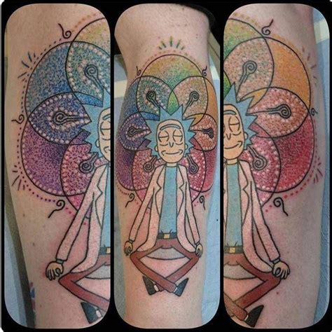 rick and morty tattoo 132 best rick and morty images on