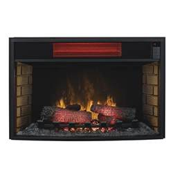 Fireplace Insert Electric Classicflame 32 In Spectrafire Infrared Electric Fireplace Insert 32ii310gra