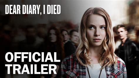 Tina Bernings Dear Diary by Dear Diary I Died Official Trailer Marvista