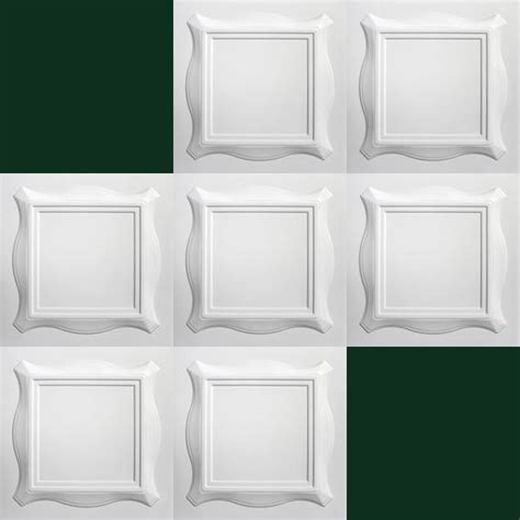 decke platten 1 m2 deckenplatten styroporplatten stuck decke dekor