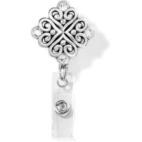 badge clip alcazar alcazar clip on badge clip necklaces