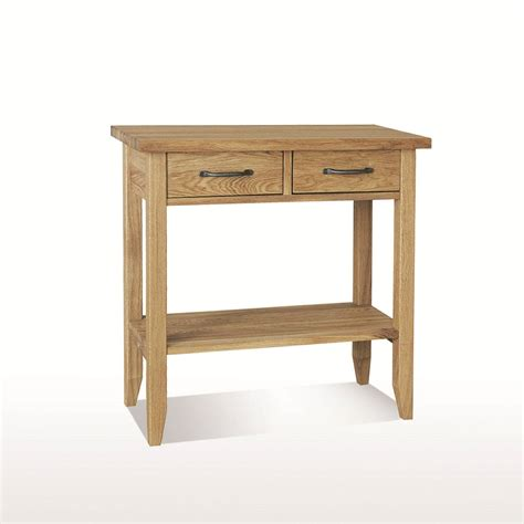 Dining Table With Drawers Uk by Dining Console Table 2 Drawers With Shelf