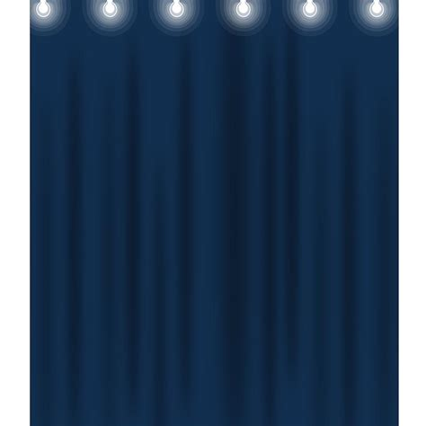 backdrop curtains for stage blue stage curtain printed backdrop backdrop express