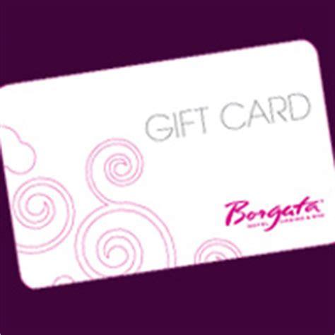 Borgata Gift Card - print