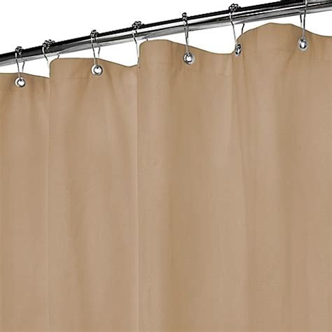 pique shower curtain buy park b smith natural pique 72 inch x 84 inch shower