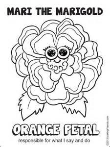 daisy orange petal mari the marigold