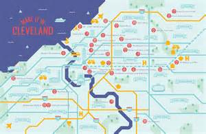 map of cleveland city of cleveland economic development maker map